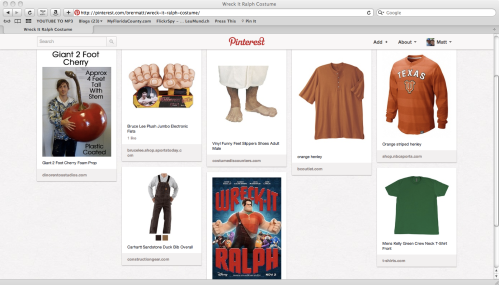 Wreck-It Ralph Costumes